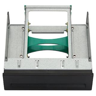 HP 2.5in HDD 2-in-1 Optical Bay Bracket P/N FX615AA
