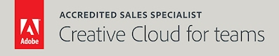 Accredited Sales Specialist - Creative Cloud for teams